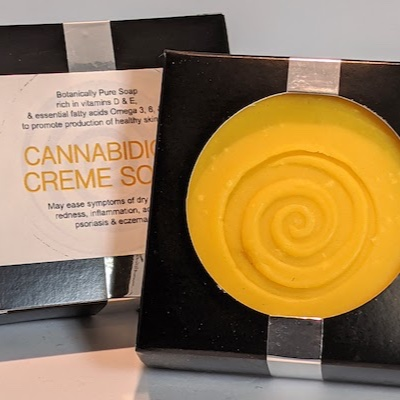 Cannabidiol Creme Soap