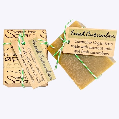 Fresh Cucumber Soap Bar