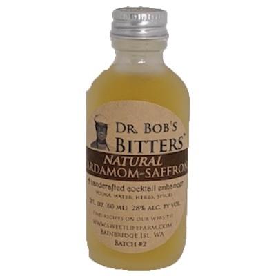 Cardamom Saffron Bitters