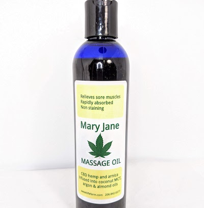 Mary Jane Massage Oil
