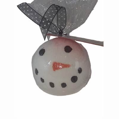 Peppermint Snow Man Bath Bomb