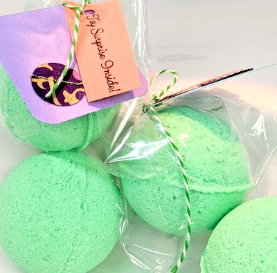 Bath Bomb with Surprise Inside!