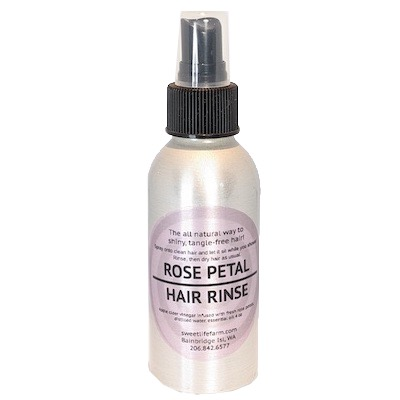 Rose Petal Hair Rinse
