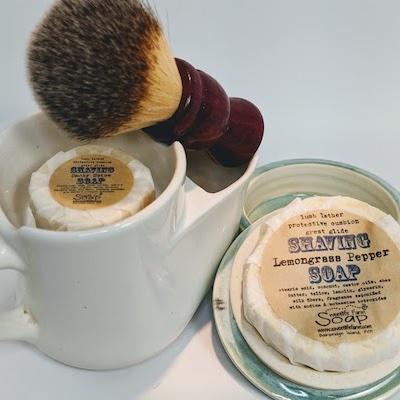 Shaving Puck